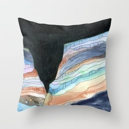 Canyon Cathedral 6 Throw Pillow