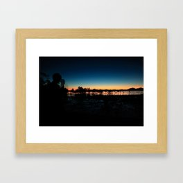 Observation  Framed Art Print