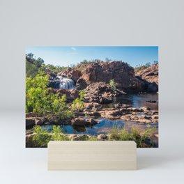 Australian Landscape at Edith Falls, Top End, Australia Mini Art Print
