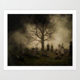 Unsettling Fog Art Print