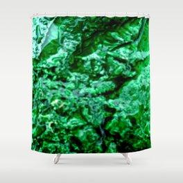 Wet Kryptonite Shower Curtain