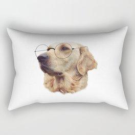 Nerd Doggo Rectangular Pillow