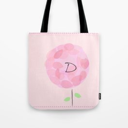Flower D Tote Bag