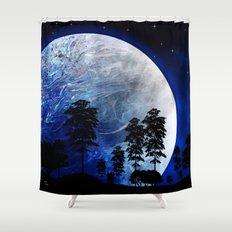 Star Gazing Shower Curtain
