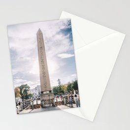 Obelisk of Theodosius, Istanbul, Turkey Stationery Cards