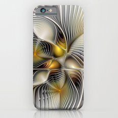 Tunnel Vision, Abstract Fractal Art Slim Case iPhone 6s