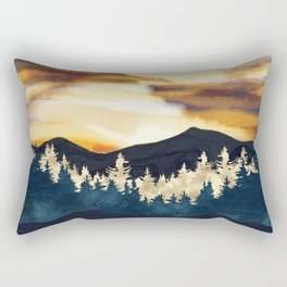 Fall Sunset Rectangular Pillow