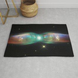 prism of the interdimensional iridescent | space 07 Rug