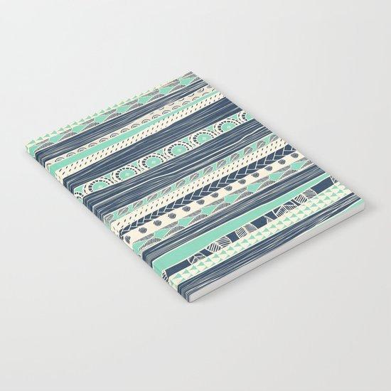 aztec color variation Notebook