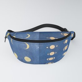17th-Century Astronomical Art by Maria Clara Eimmart: Phases of Venus and Saturn Fanny Pack