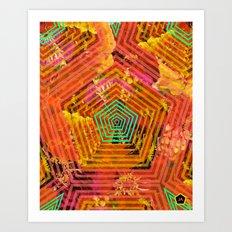 florecitas Art Print