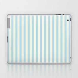 Blue Plume Glass Green Stripe Laptop & iPad Skin
