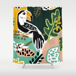 The Toucan Shower Curtain