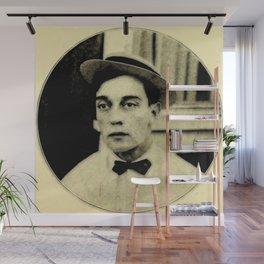 Buster Keaton Wall Mural