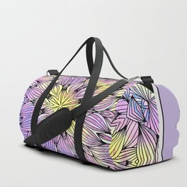 lavender  tangle Duffle Bag