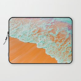 Coral Shore #photography #digitalart Laptop Sleeve