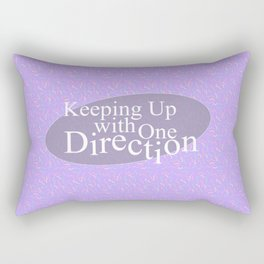 Keeping Up With One Direction Rectangular Pillow