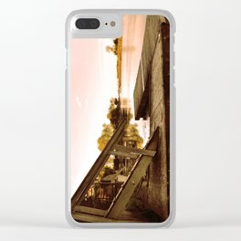 Cottage Sky Clear iPhone Case