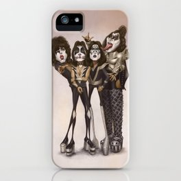 Rock and Roll All Nite iPhone Case