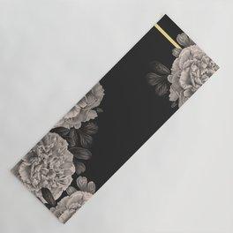 Flowers on a winter night Yoga Mat
