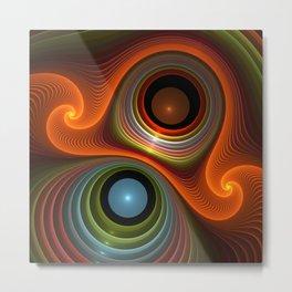 fractal design -42- Metal Print