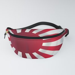 Japanese Rising Sun Flag Fanny Pack