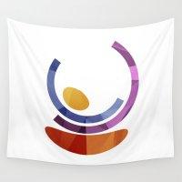 geo Wall Tapestries featuring Geo by Losal Jsk