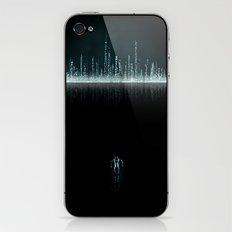 TRON CITY iPhone & iPod Skin