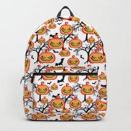 Pumpkinhead Pattern Backpack