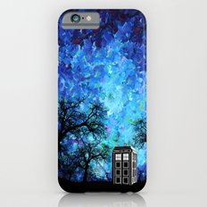 Lonely Tardis Doctor who Art painting iPhone 4 4s 5 5c 6, pillow case, mugs and tshirt iPhone 6 Slim Case