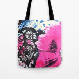 Pink Flower | fleur rose Tote Bag
