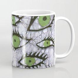 green eyes batik Coffee Mug