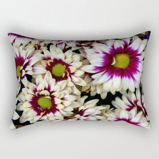 Multi color daisies! Rectangular Pillow