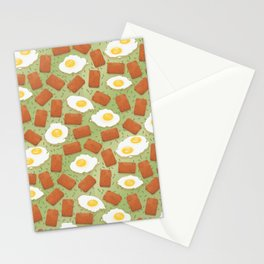 Spam & Eggs Stationery Cards