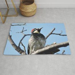 Woodpecker Lookup Rug