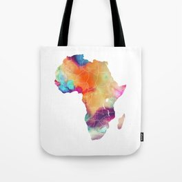 Africa Map 3 Tote Bag