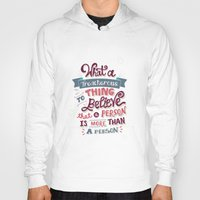 paper towns Hoodies featuring Paper Towns: Treacherous Thing by Risa Rodil