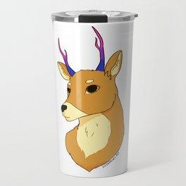 Bisexual Pride Deer Travel Mug