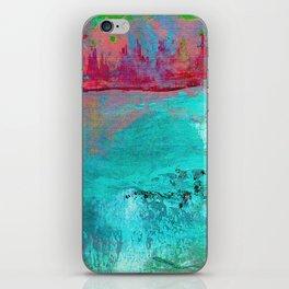 Turquoise Ocean iPhone Skin