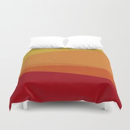 Stripe X Orange Peel Duvet Cover