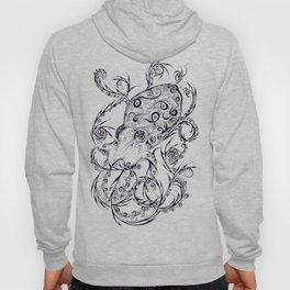 Calligraphy Octopus Hoody
