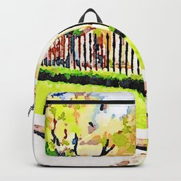 L'Aquila: town hall building Backpack