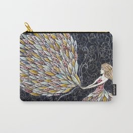 She Fancied a sky full of Feathers Carry-All Pouch