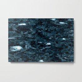 blue marble Metal Print