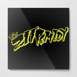 The Zit Remedy - Cramps Style Logo Metal Print