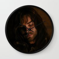 kili Wall Clocks featuring Kili by LindaMarieAnson