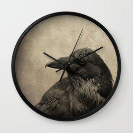 OLDE RAVEN Wall Clock