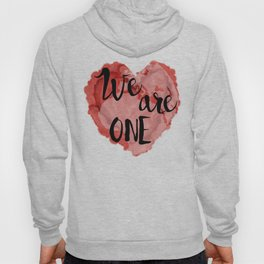 We Are One -Global Community Hoody