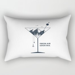 Fresh Air Cocktail Rectangular Pillow