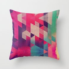 sydeswype Throw Pillow
